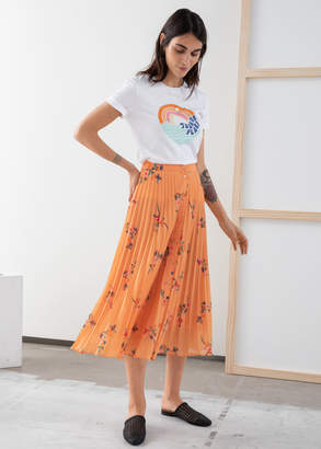 And other stories Pleated Midi Skirt