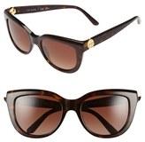 Tory Burch Women's 54Mm Sunglasses - Dark Tortoise