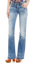 Silver Jeans Co. Suki High Lightly Distressed Bootcut Jeans