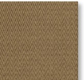 Williams-Sonoma Williams Sonoma Faux Natural Chevron Indoor/Outdoor Rug, Chestnut/Grain