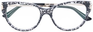 Bulgari patterned glasses