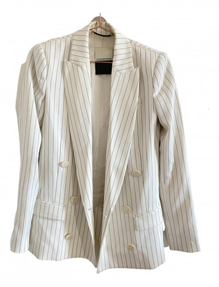 By Malene Birger White Polyester Jackets