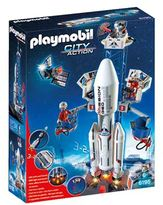 Playmobil City Action Space Rocket Launch Site