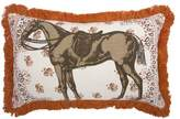 Thomas Paul Menagerie Horse Pillow