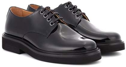 A.P.C. Autumn patent leather Derby shoes