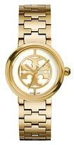 Tory Burch Reva Watch, Gold-Tone/Ivory, 28 Mm