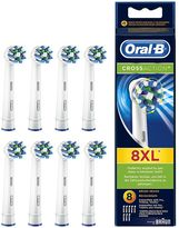Oral-B Oral B CrossAction® Replacement Electric Toothbrush Heads 8 counts
