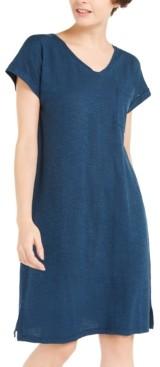 Eileen Fisher Organic V-Neck Dress, Created For Macy's