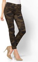New York & Co. The Crosby Pant - Slim-Leg Ankle - Camo Print - Tall