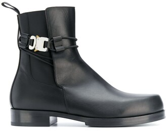 Alyx Buckle-Strap Ankle Boots