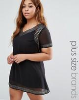 AX Paris Plus Embellished Dress