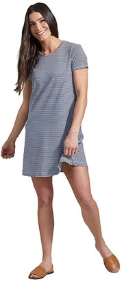 United By Blue Swing Dress (White) Women's Clothing
