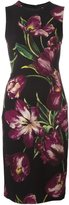 Dolce & Gabbana tulip print dress - women - Silk/Spandex/Elastane/Wool - 44