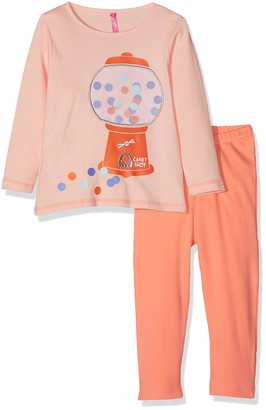 Lina Pink Baby Girls' BF.CANDY.PLK Pyjama Sets