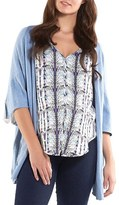 Women's Tart Maternity 'Harlyn' Cotton & Cashmere Maternity Wrap Cardigan