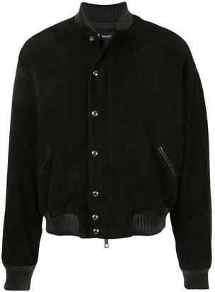SONGZIO MA-1 suede cocoon jacket