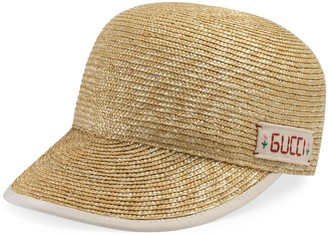 Gucci Straw baseball hat