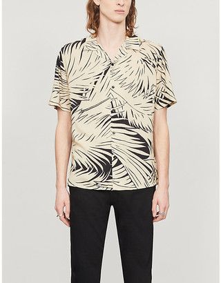 The Kooples Floral-print woven shirt