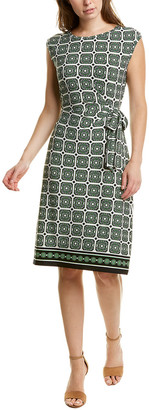 Brooks Brothers Printed Shift Dress