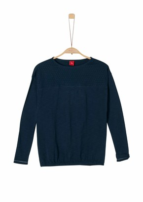 S'Oliver Girl's 66.911.31.7579 Long Sleeve Top