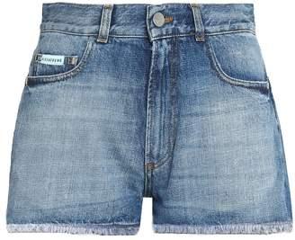 ALEXACHUNG classic denim shorts
