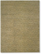 Williams-Sonoma Two-Toned Damask Wool Rug