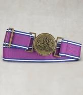Grosgrain Medallion Belt