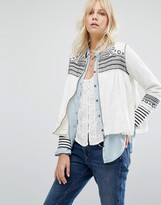 Maison Scotch Embroidered Jacket