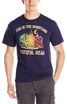 Liquid Blue Men's Fire In The Mountain T-Shirt
