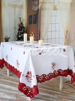 B-COOL Christmas Tablecloth Oblong Rectangle New Holiday Home Decor