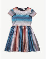 No Added Sugar Glitter stripe dress 4-12 years