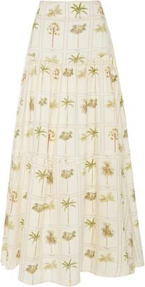 Agua Bendita Anis Caribe Midi Skirt