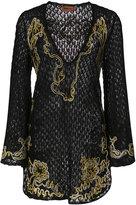 Missoni knit sheer dress