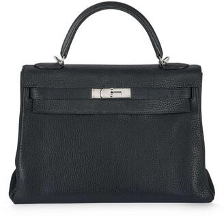 Hermes pre-owned 32cm Kelly handbag with Fendi strap