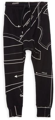 Nununu Little Boy's & Boy's Sewing Pattern Baggy Pants