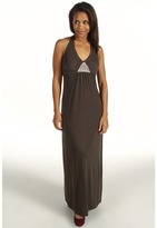 Tommy Bahama Hart Beaded Halter Dress (Pepper) - Apparel