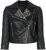 Philipp Plein studded biker jacket