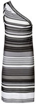 Missoni One-Shoulder Woven Stripe Dress