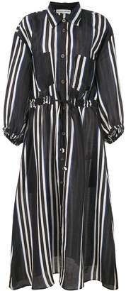 Apiece Apart Striped Shirt Dress