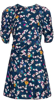 Tanya Taylor Liz Silk Floral Dress