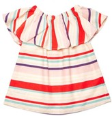 Margherita Toddler Girl's Ruffle Shirt