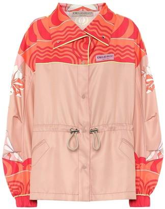 Emilio Pucci Printed twill jacket
