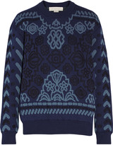 Stella McCartney Matelassé cotton sweatshirt