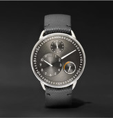 Ressence - Type 1 R Titanium And Leather Watch