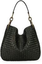 Bottega Veneta Loop Intrecciato Woven Shoulder Bag