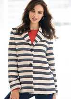 Kaleidoscope Stripe Box Jacket