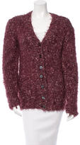 Dolce & Gabbana Patterned Long Sleeve Cardigan w/ Tags