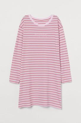 H&M Flock-print Nightgown