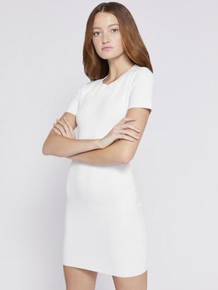 Alice + Olivia Jess Crystal Sweater Dress