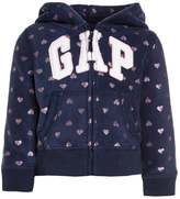 Gap ARCH HOODY Fleece dark blue